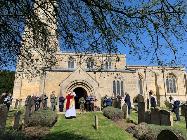 Christopher Armstrong is leaving the Welland Fosse Benefice which includes Barrowden church